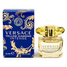 YELLOW DIAMOND INTENSE * Versace 0.17 oz / 5 ml Mini EDP Women Perfume Splash