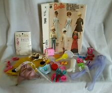 VINTAGE LOT MATTEL BARBIE  CLOTHES ACCESSORIES Mcall Pattern