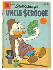 UNCLE SCROOGE #30 Money Fan on a Hot Beach! Walt Disney Dell Comic Book ~ G
