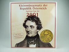 *** Schilling KMS ÖSTERREICH 2001 HGH Austria Coin Set Kursmünzensatz vor Euro *