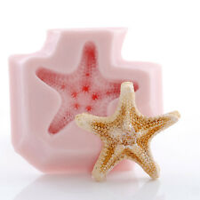 Knobby Starfish Silicone Mold Polymer Clay Resin Mints Candy Fondant Mould (883
