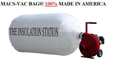 6 INSULATION REMOVAL VACUUM BAGS 75 CU. FT. HOLDS UP TO 300 LBS BEST QUALITY