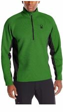 NWT Mens Green  Spyder Outbound mid weight core Stryke Sweater Size X-Large XL