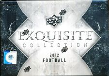 2012 UPPER DECK EXQUISITE COLLECTION SEALED FOOTBALL HOBBY BOX