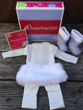 Retired New in Box My American Girl 2012 SOFT AS SNOW OUTFIT New In The Box