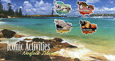 Norfolk Island 2012 FDC Iconic Activities 4v S/A Cover Bird Eggs Shells Stamps