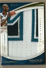 2015-16 IMMACULATE JERSEY NUMBERS KEVIN GARNETT PATCH 03/17!!