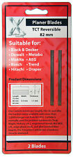 PLANER BLADES 82mm REVERSIBLE FOR DEWALT-MAKITA-BOSCH-B&D-HITACHI- METABO