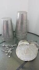READY TO USE 10 MAPLE SYRUP Sap BUCKETS + Lids Covers + Taps Spouts Spiles