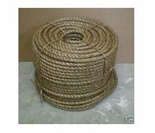 "5/8"" Nautical MANILA ROPE CUT TO LENGTH $ .25 per foot Crafts Work Farm Dock NEW"