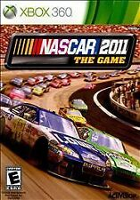 NASCAR The Game 2011 rare XBOX 360 VIDEO Game RACING