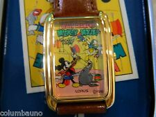 DISNEY-LORUS  MICKEY MOUSE CIRCUS WATCH