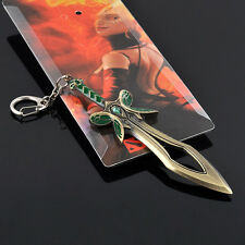 Dota 2 Popular Butterfly Sword Weapon Key Chain Keychain Rings Cosplay Jewelry