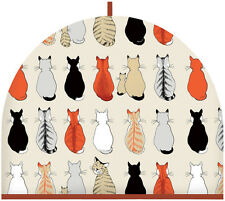 Ulster Weaver Cotton Cats In Waiting Tea Cosy - 7CAW04