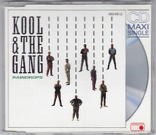 KOOL & THE GANG - RAINDROPS 4 TRACK MAXI CD METRONOME 1989 GERMANY(BITTE LESEN!)