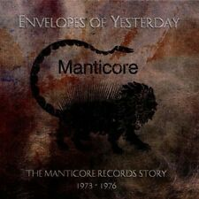 ENVELOPES OF YESTERDAY-MANTICORE ANTHOL (P.F.M.,Emerson, Lake & Palmer)2 CD NEU