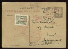 Poland: 1927 special flight  Warsaw - Lwow,  Fischer 51