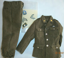 Dragon US 101st Class A jacket & trousers ( S Wiley ) 1/6th scale toy accessory