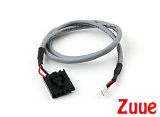 FPV Camera to TX 400mm 5 Pin Molex/JR to 4 Pin White Connector Lead 64629