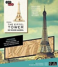 The Eiffel Tower : 3D Wood Model by Amy Sterling Casil (2016,  (FREE 2DAY SHIP)