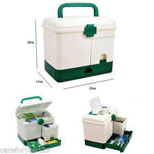 Household Multi-layer First Aid Kit Multifunctional Medicine Cabinet Box Bins