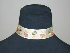 Fabric Choker, Necklace, Women's Accessories, Multi-Color Gothic Punk Jewelry
