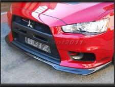 Carbon Kit For 08-12 Mitsubishi Lancer Evolution Evo 10 X Ralliart Front Lip