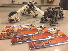 LEGO Republic Dropship with AT-OT Walker 10195 - 100% complete