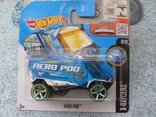 Hot Wheels 2016 #019/250 AERO POD blue X-Racers Case C