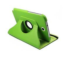 "Green 360 Rotating Leather Case Cover Stand for Samsung Galaxy Note 8"" N5100"