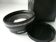 BK 46mm 0.45X Wide-Angle Lens FOR Panasonic HDC TM900 HS900 TM700 HS700