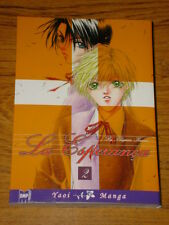 LA ESPERANCA #2 GRAPHIC NOVEL MANGA BOOK YAOI ACTION