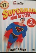 Man of Steel Box Set (DVD, 2006) Superman Forever/ Saves the Day
