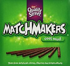 Nestle Quality Street Matchmakers Mint Boxed Chocolates 130gm Box Sealed