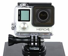 GoPro Hero4 LCD HD Video Camera 1080p Wifi BT Waterproof Silver CHDHY-401 NOB