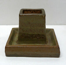 RARE L A Pressed Brick Co. Match Book Holder