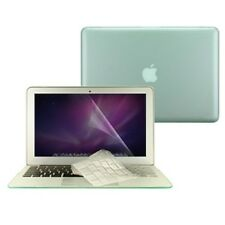 "3 in 1 Rubberized GREEN Case for Macbook AIR 13"" A1369 + Key Cover + LCD Screen"
