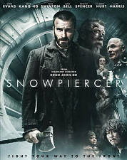 Snowpiercer (2013) Like New 2-Disc Blu-ray Chris Evans, Song Kang Ho, Jamie Bell