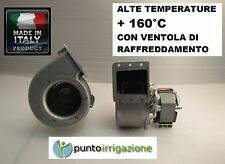 Ventilatore Centrifugo ALTE TEMPERATURE 80 W  160° C Motore elettrico Monofas