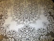 1950's Tagged Quaker Lace Tablecloth #5320 Baroness 63 x 83 Elegant!!