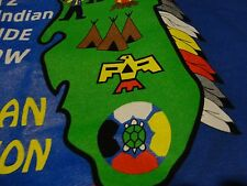 Florida Indian POW WOW Suwannee Tribe TIMUCUAN Federation 2012 T Shirt size XL