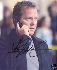 KIEFER SUTHERLAND AUTOGRAPH SIGNED PP PHOTO POSTER