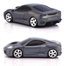 UK 2.4GHz Wireless 3D Cool 1600DPI Ferrari Car Shape Optical Usb Cordless Mouse