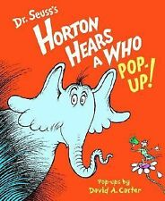 Horton Hears a Who Pop-Up! by Dr. Seuss (2008, Novelty Book)