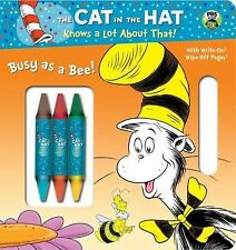 Busy as a Bee! (Seuss/Cat in the Hat) by Mary Tillworth (2012, Board Book)