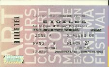 RARE / TICKET BILLET SPECTACLE - CIRQUE ETOILES A PARIS 2008 / CLOWN CIRCUS ZOO
