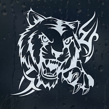 Furious Tiger Car Decal Vinyl Sticker For Wall Or Window Bumper Panel