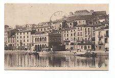 CPA Séte le quai de la consigne et le fort Richelieu carte postale /cp593