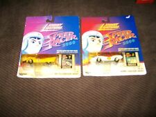 JOHNNY LIGHTNING SPEED RACER/ RACER X  2000  - (Cel # 7& 11) - 1:64 - N.I.P. .