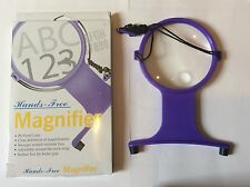 LACEMAKING EMBROIDERY SEWING CROSS STITCH.Magnifying Glass, Hands Free. NEW!